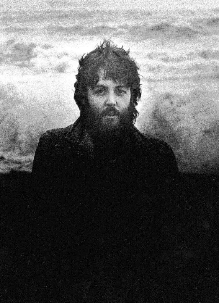 Paul McCartney 1970. Photo by Linda McCartney.