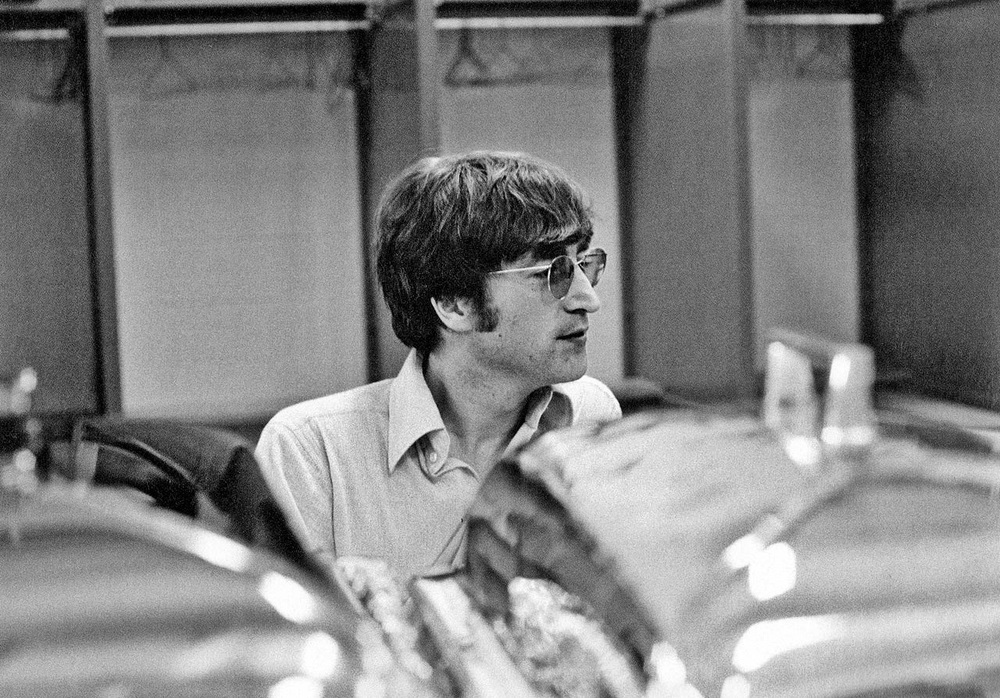 John Lennon in the US, 1966.