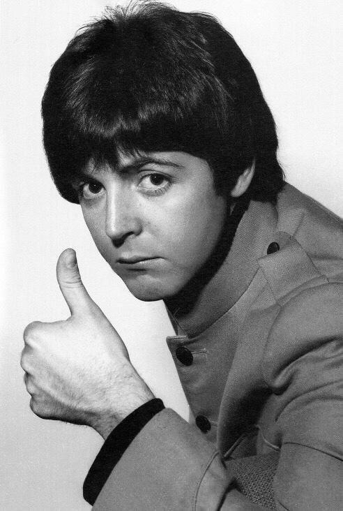Paul McCartney filming Help! in 1965.