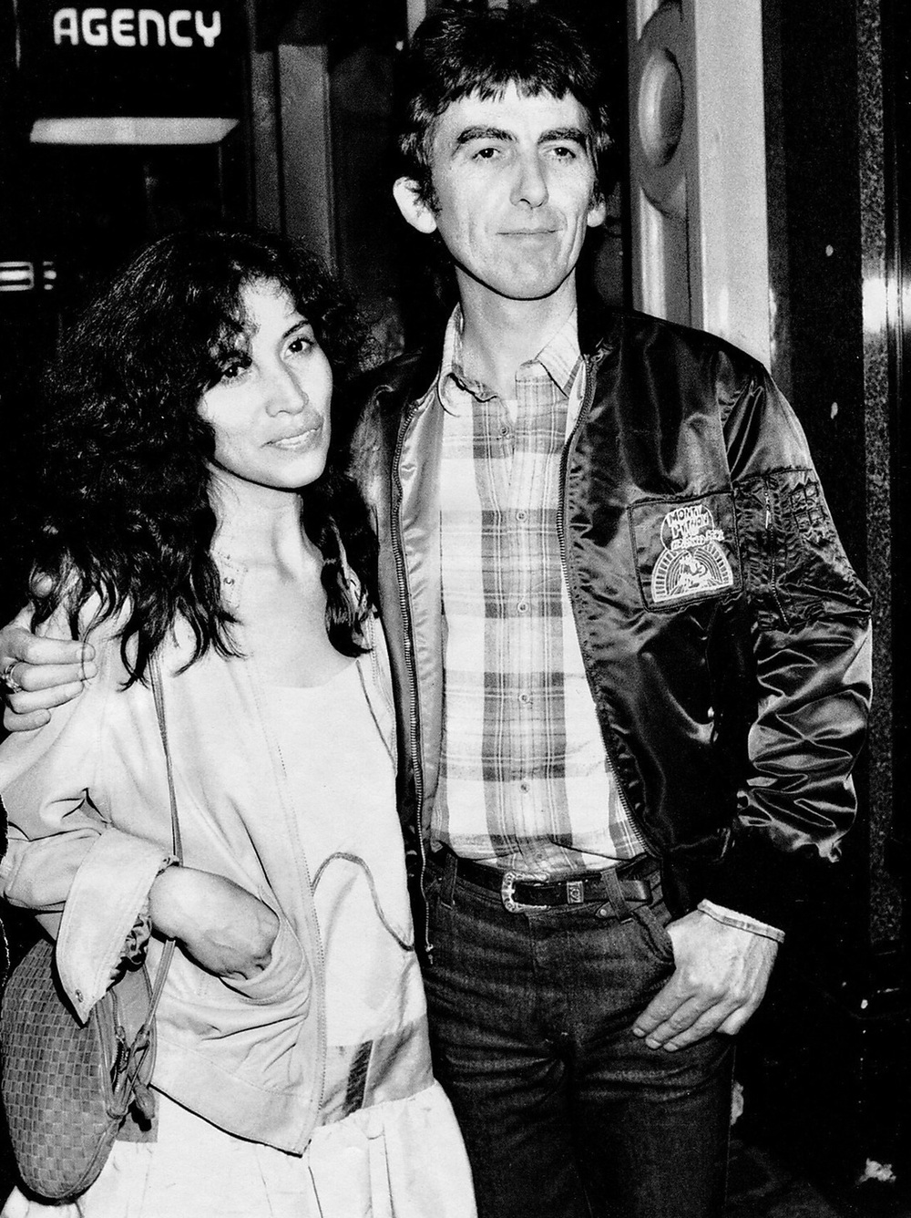 George and Olivia Harrison.