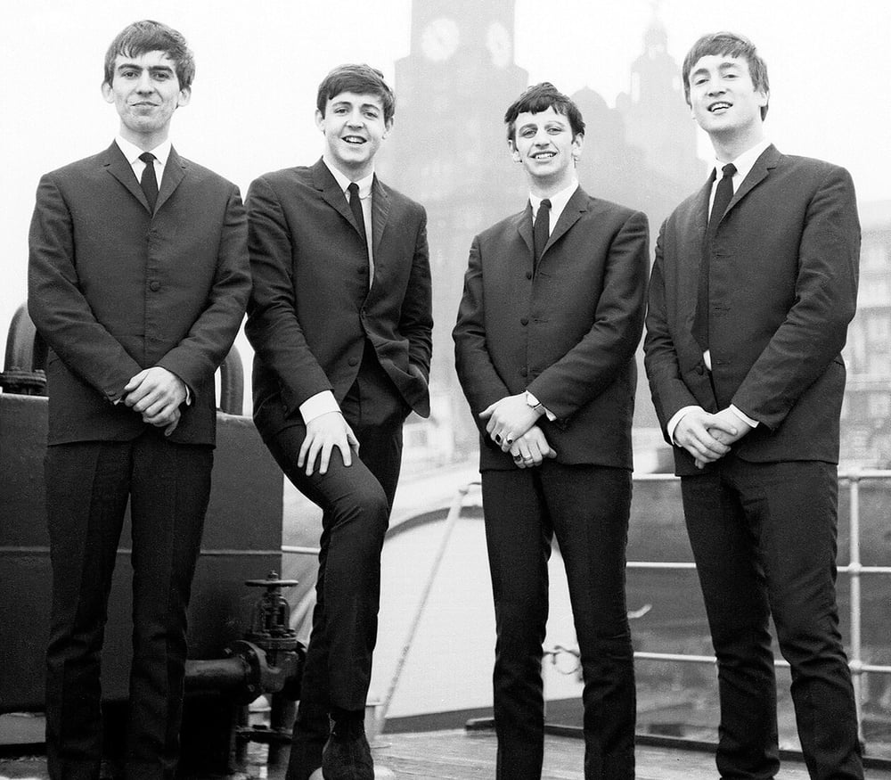 The Beatles 1962.