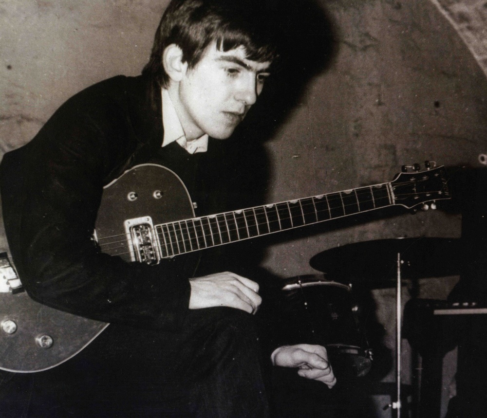 George Harrison at the Cavern Club.
