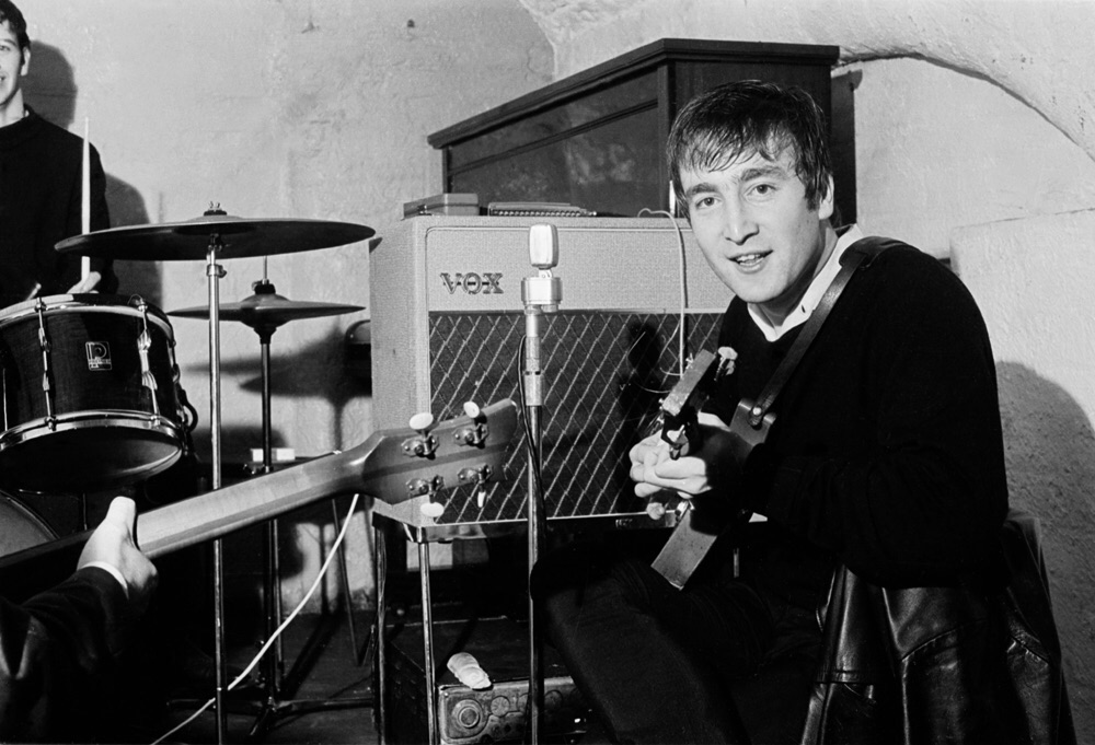 John Lennon at the Cavern Club.