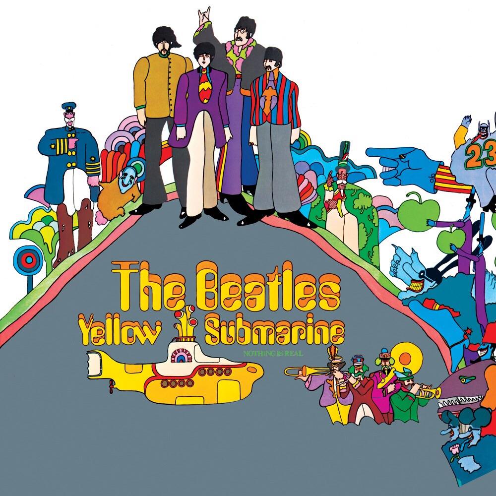 Yellow Submarine album cover.