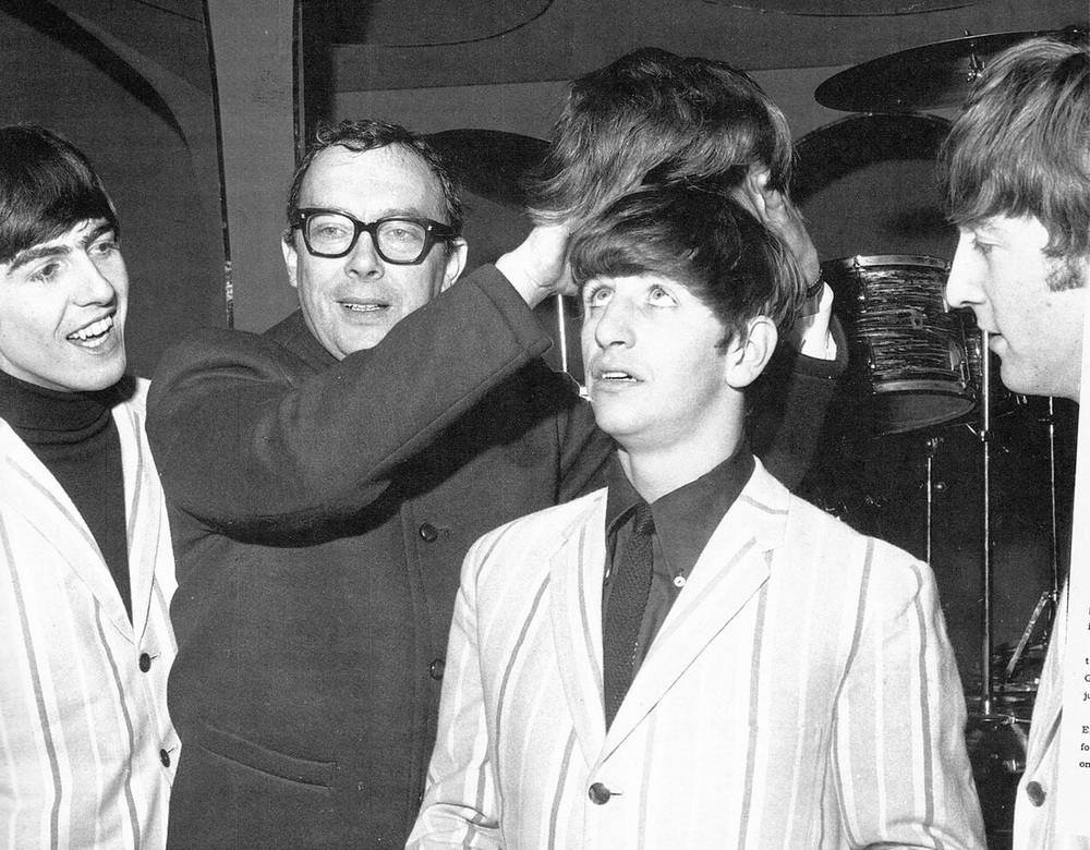 The Beatles on the Morecambe and Wise Show, December 2nd, 1963.