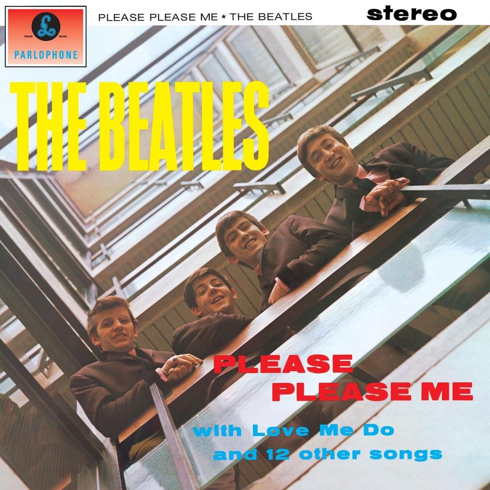 Please Please Me album cover, 1963.