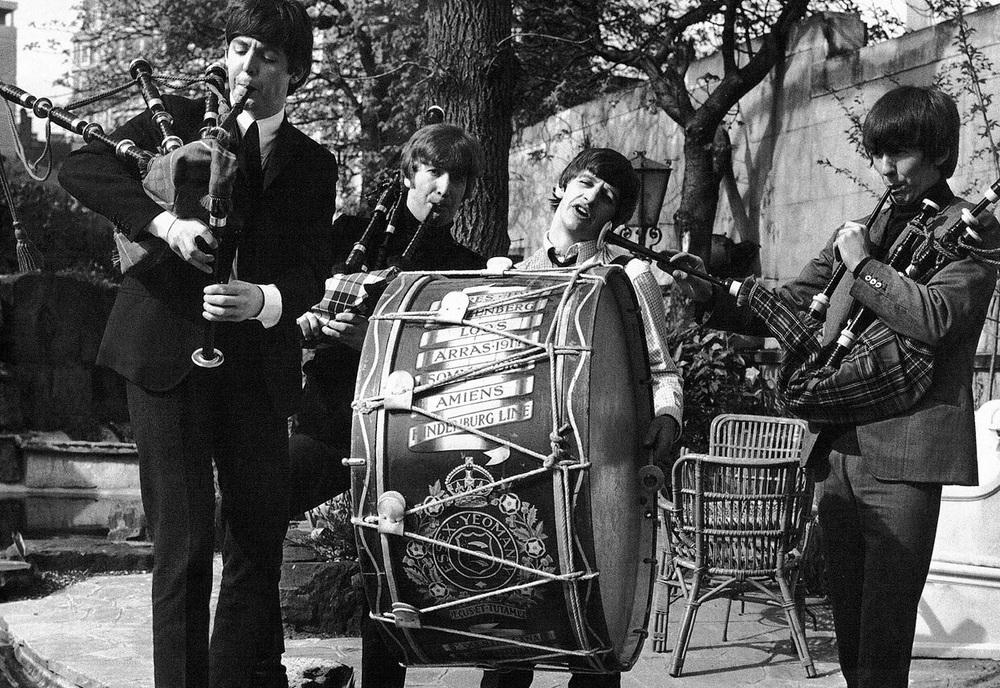 The Beatles in Scotland, 1964.