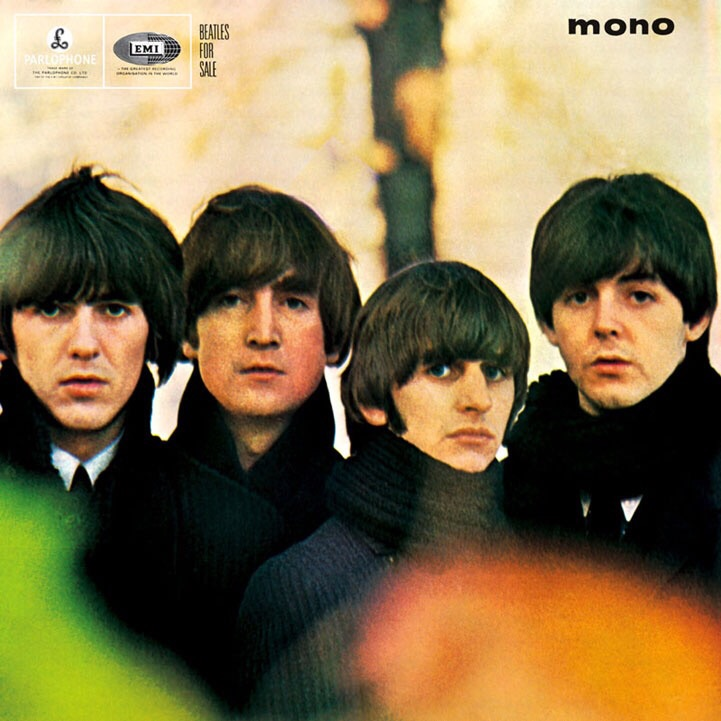 Beatles for Sale album cover, 1964.