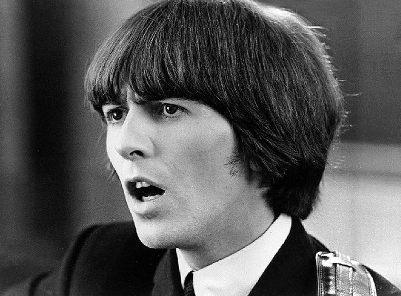 George Harrison filming Help! 1965.