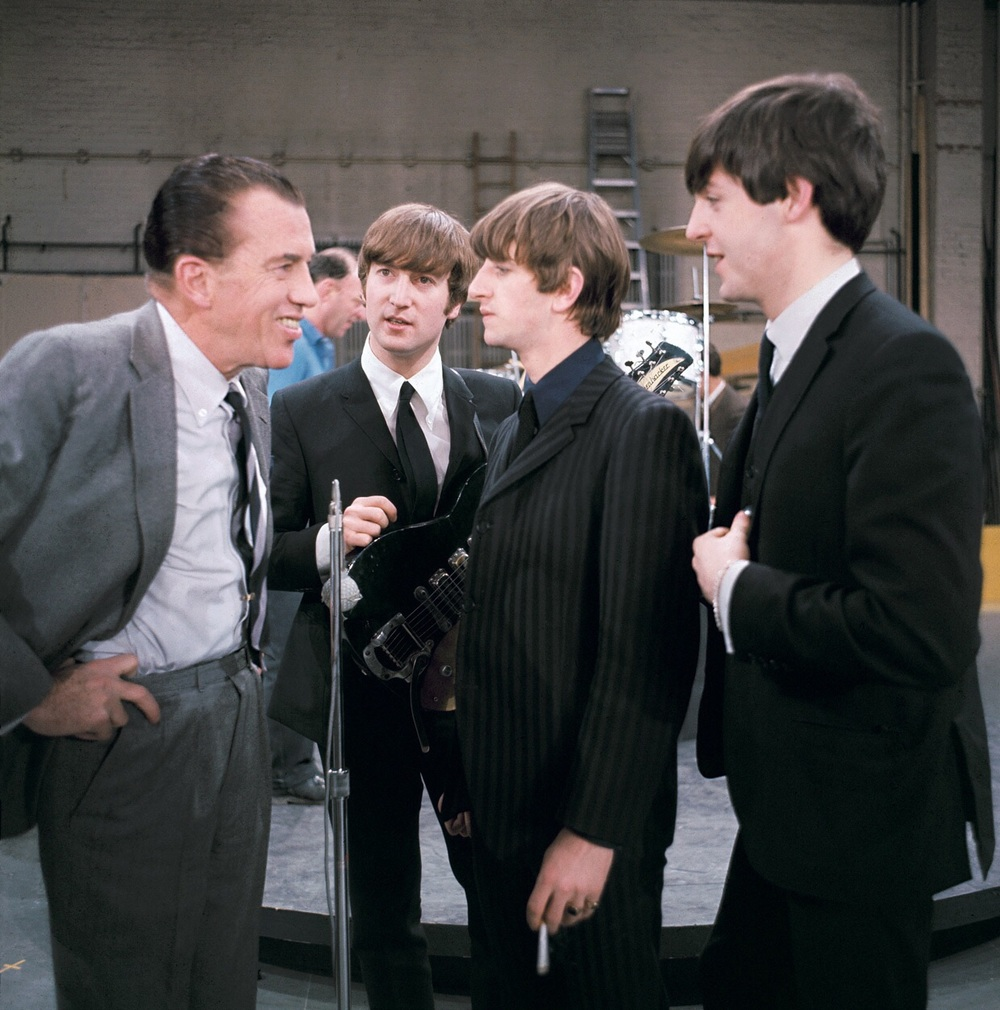 The Beatles with Ed Sullivan, February 9th 1964.