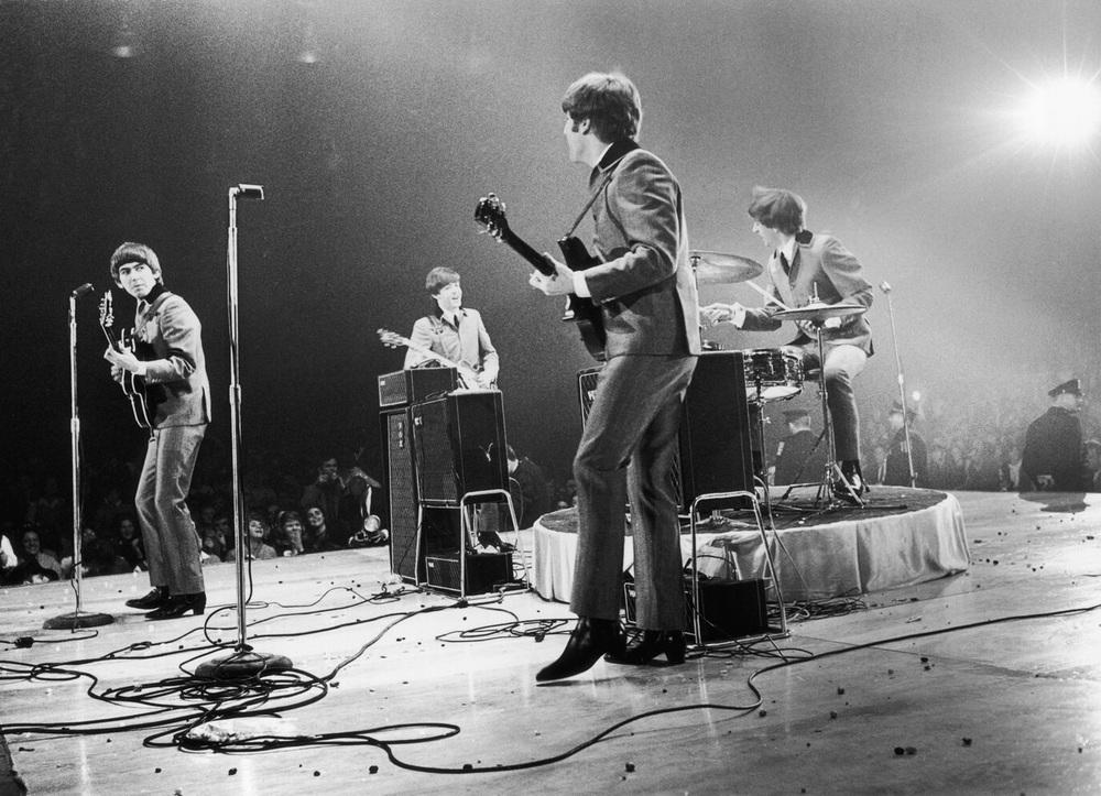 The Beatles at the Washington Coliseum, February 11th 1964.