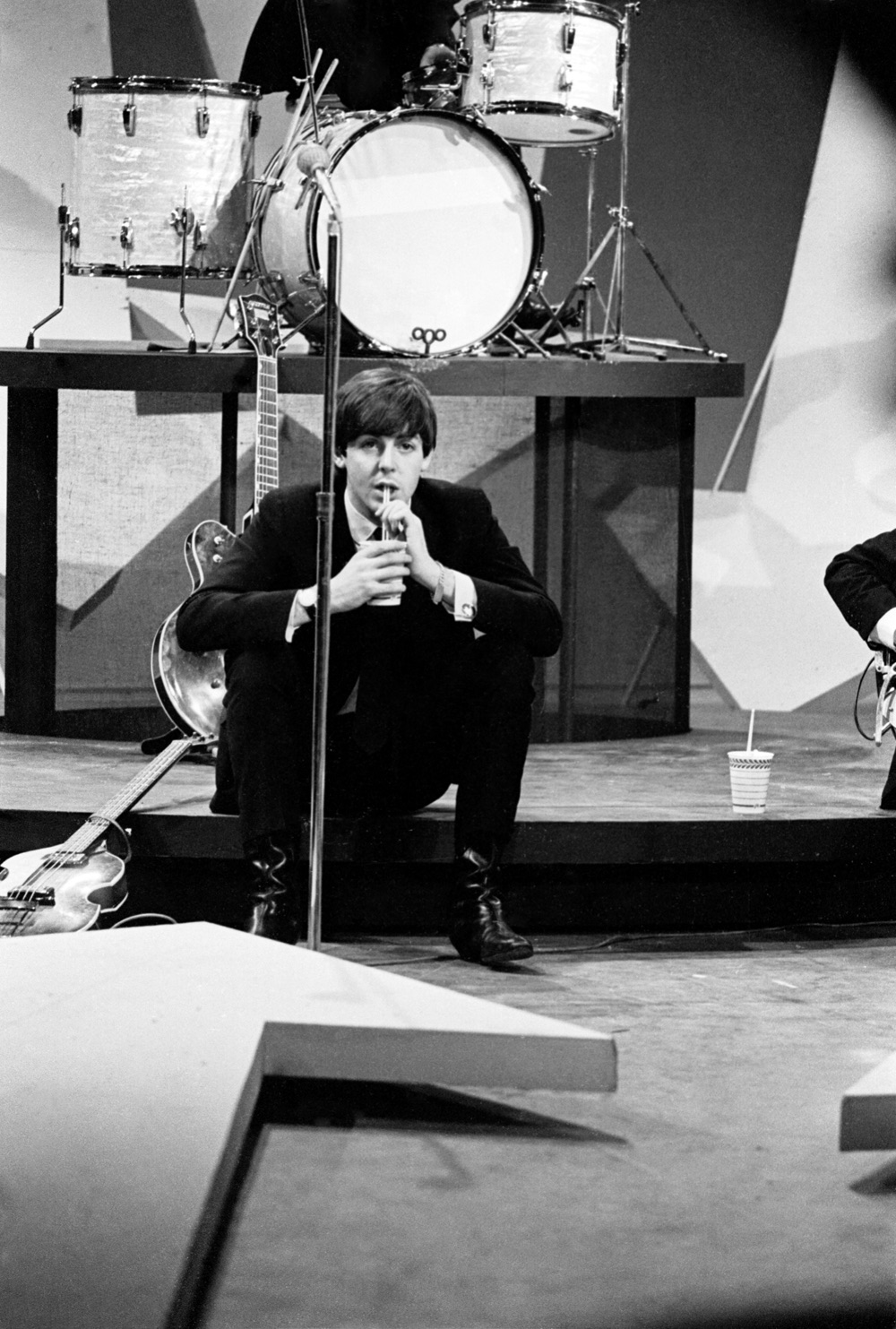 Paul McCartney on the Ed Sullivan Show, February 9th 1964.