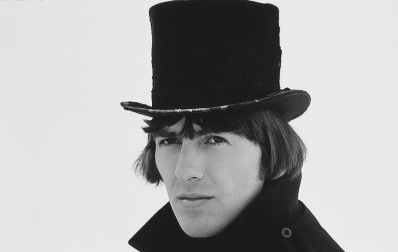 George Harrison filming Help! in Austria, 1965.