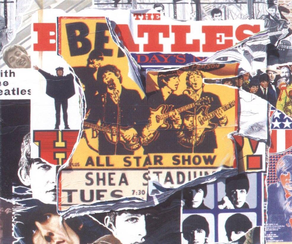 Anthology 2 album cover, 1996.