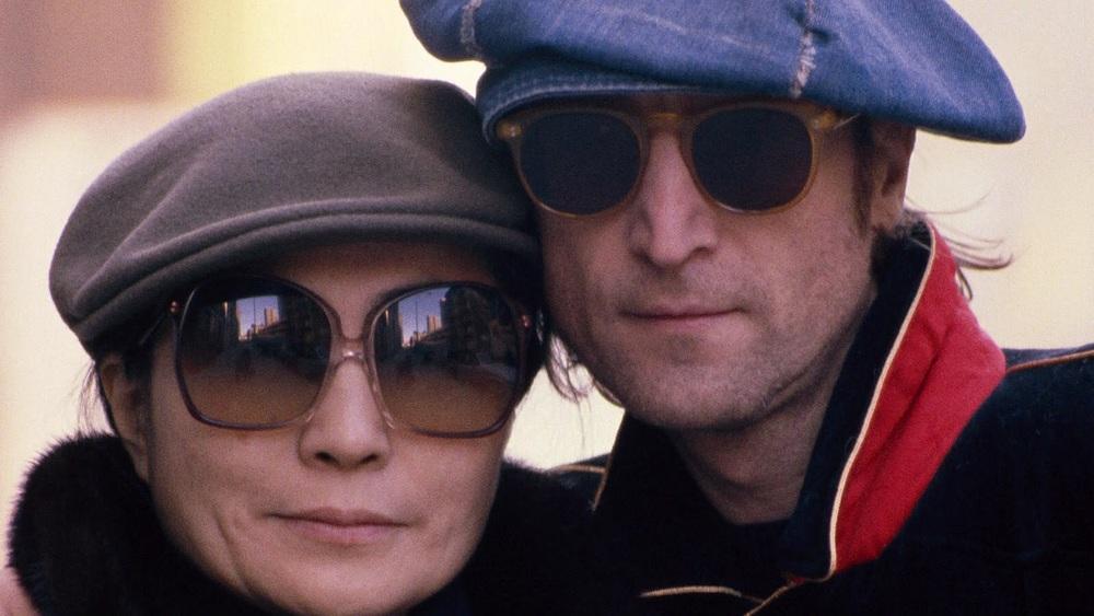 John Lennon and Yoko Ono, 1980.