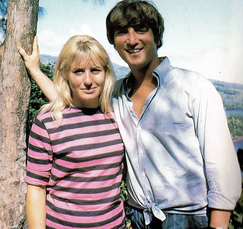 John and Cynthia Lennon in Tahiti, May 1964.