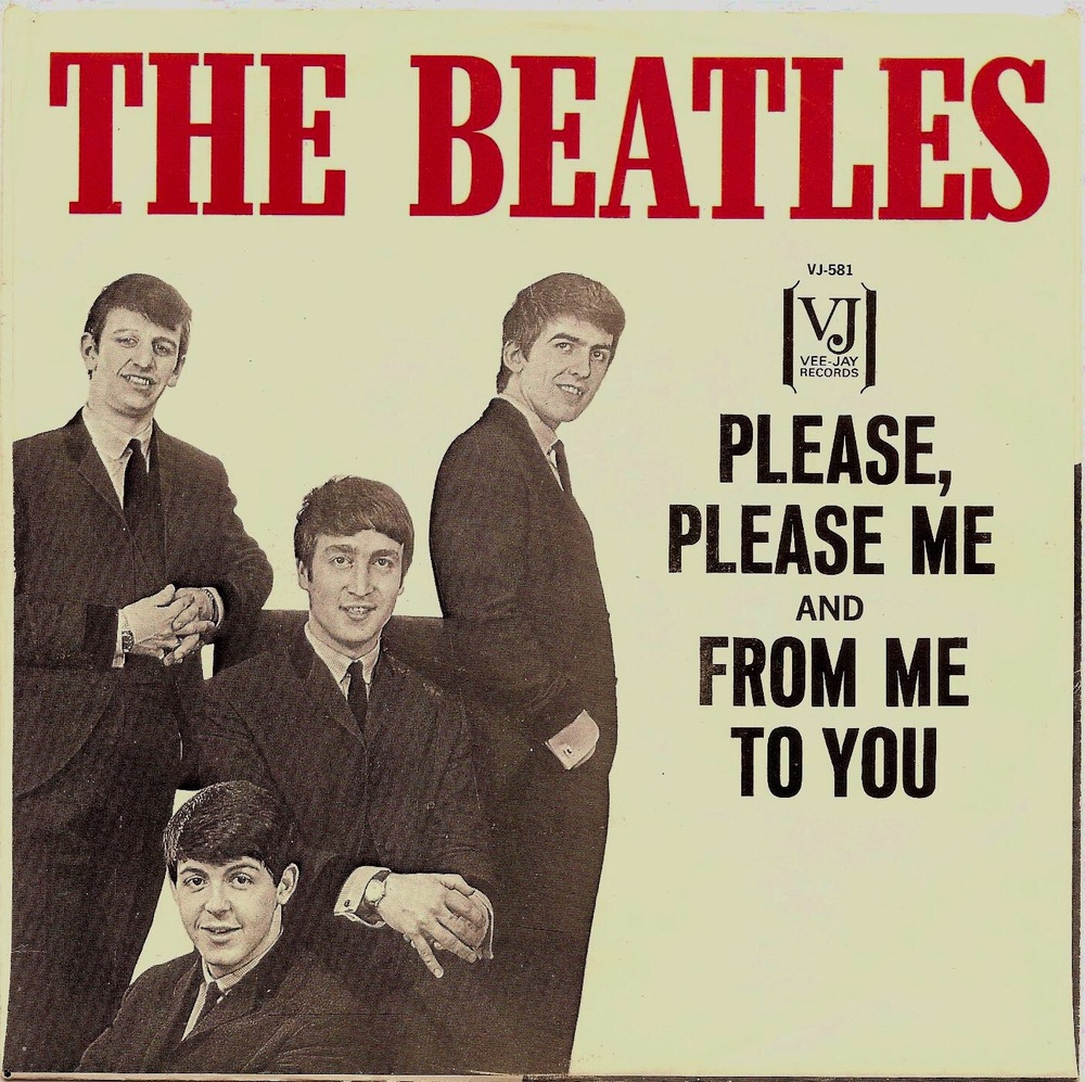 The second US single release of From Me to You, 1964.
