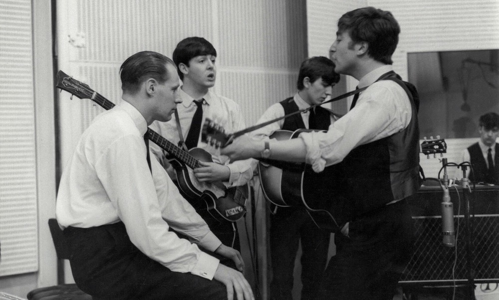 The Beatles recording From Me to You, March 5th 1963.