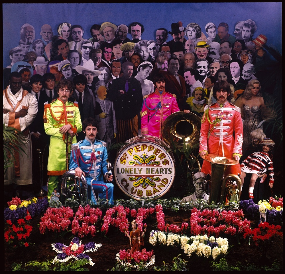 Alternate Sgt Pepper cover.