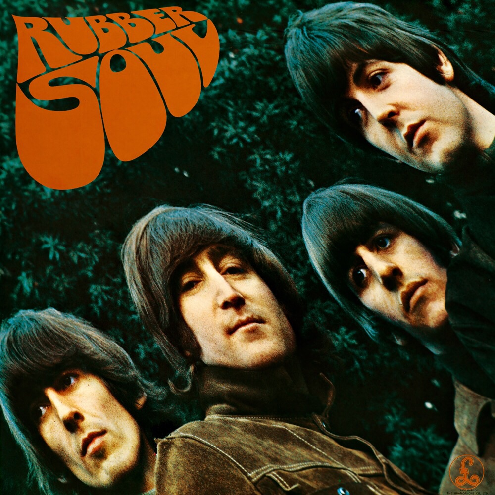 Rubber Soul cover, photograph by Bob Freeman.