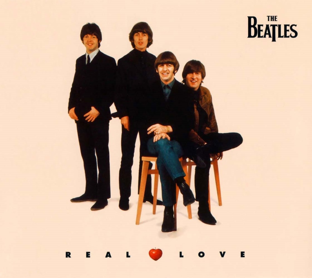 Real Love single cover.