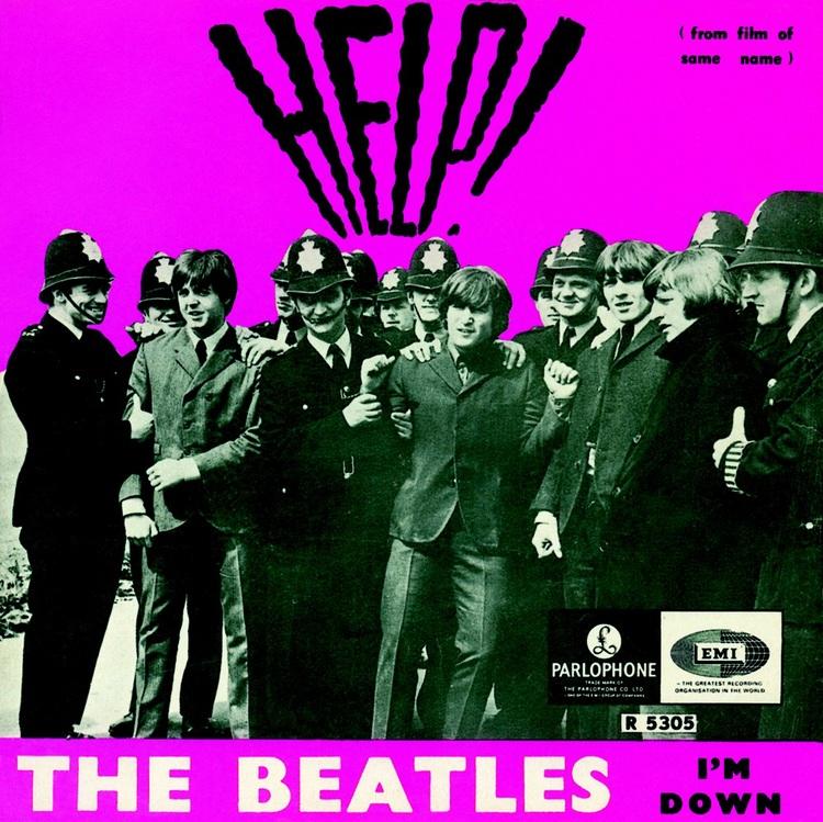 Help! single sleeve, 1965.