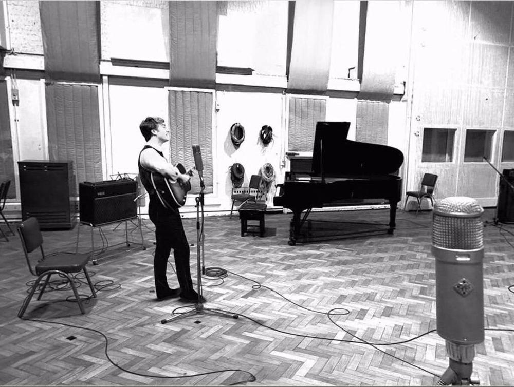 John Lennon Abbey Road Studios 1963.