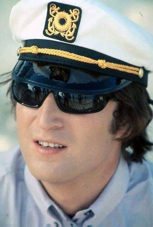 John Lennon in Miami, 1964.