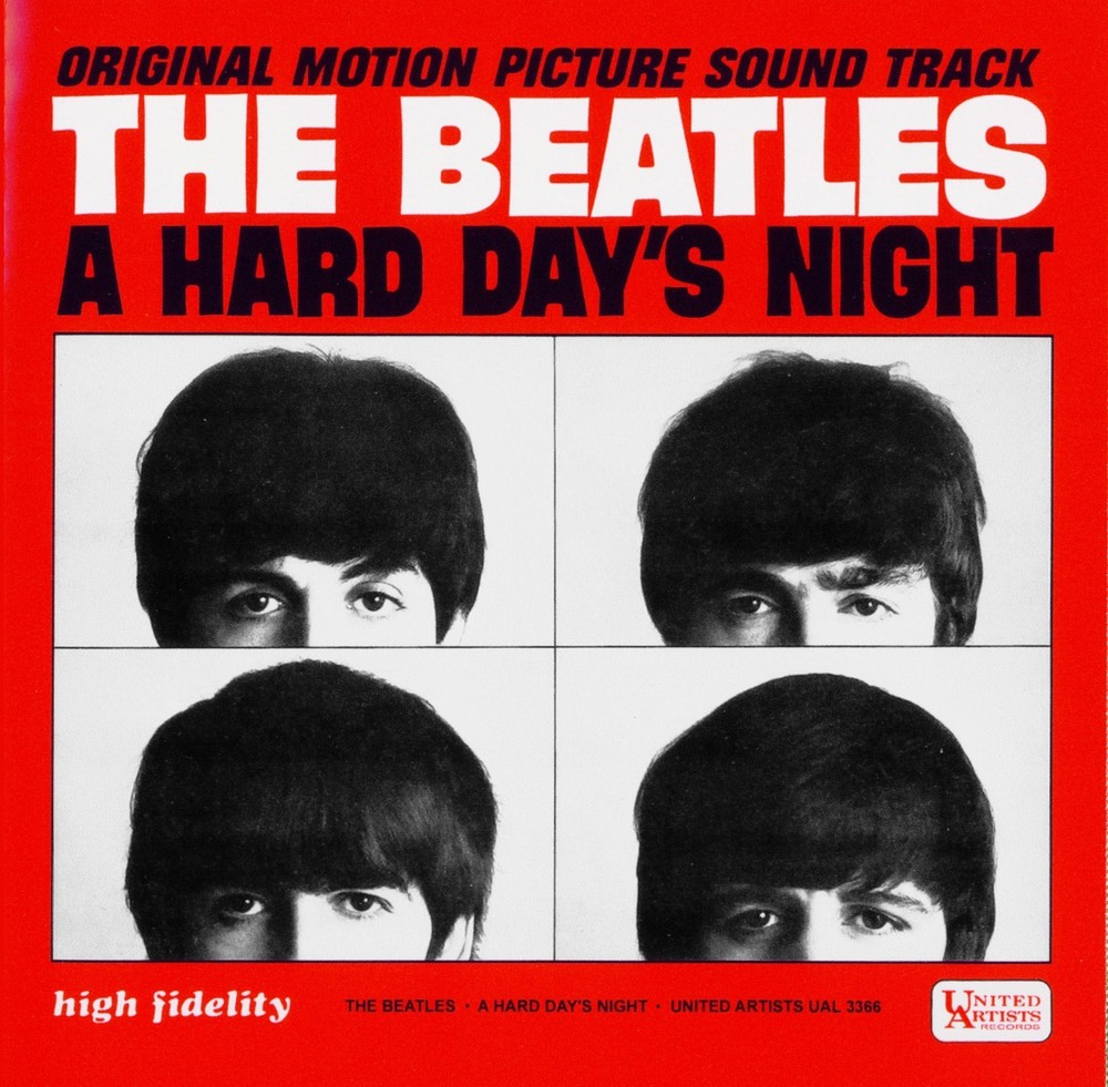 A Hard Day's Night US album cover.