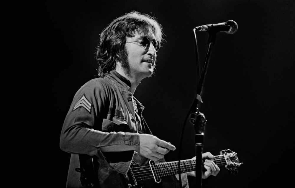 John Lennon at Madison Square Garden, August 30th, 1972.