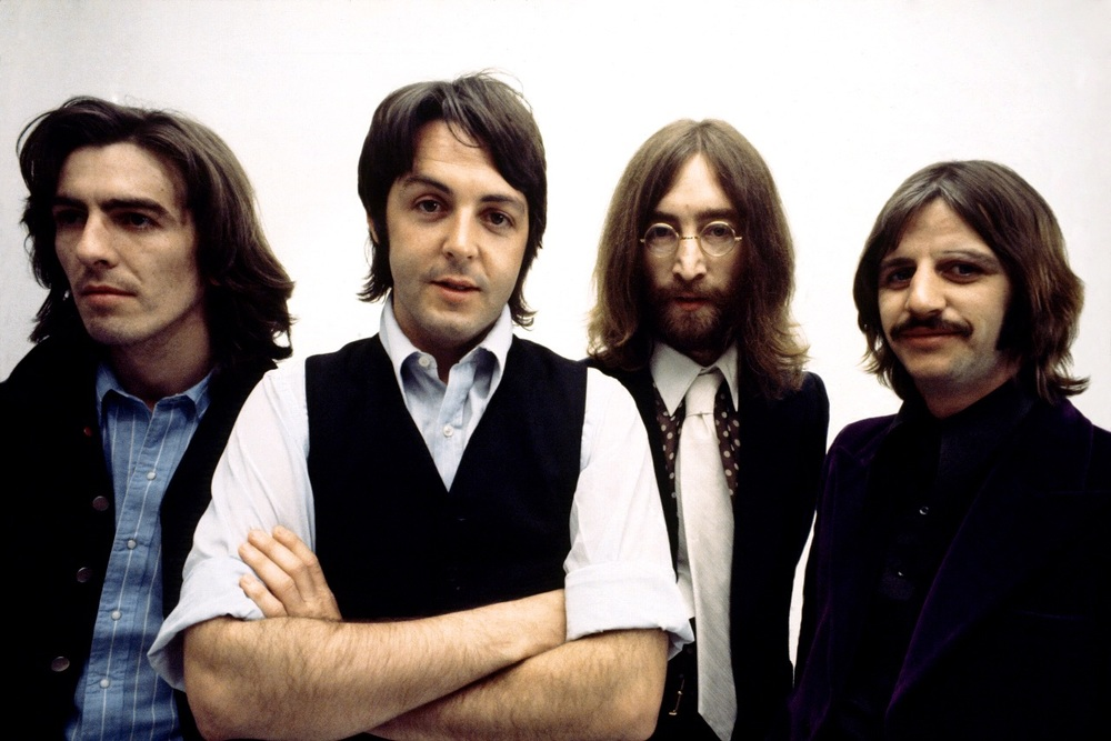 The Beatles at their penultimate photo shoot, April 9th 1969.