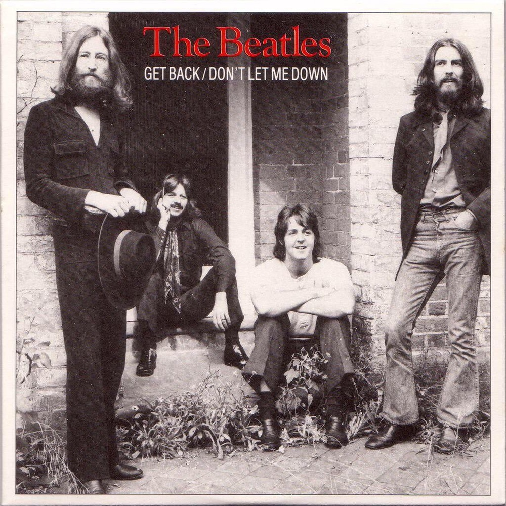 Get Back/Don't Let Me Down single, 1969.