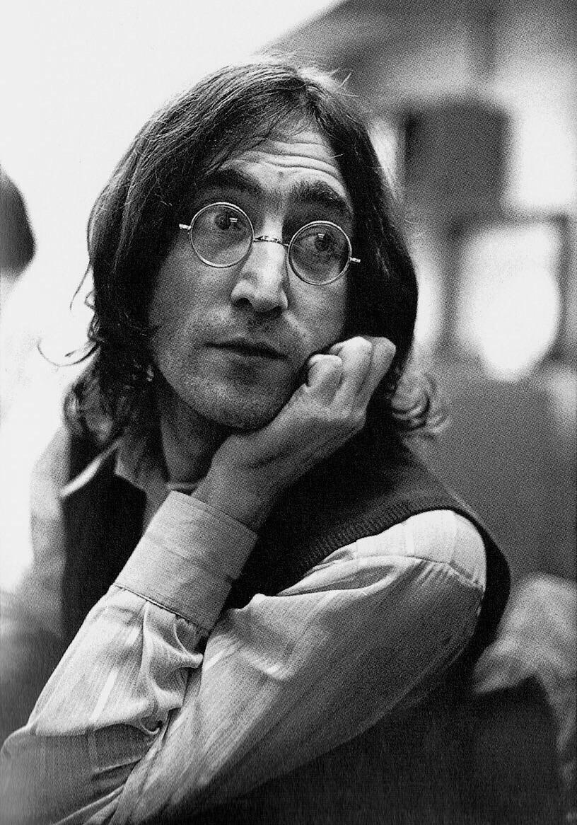 John lennon, 1968.