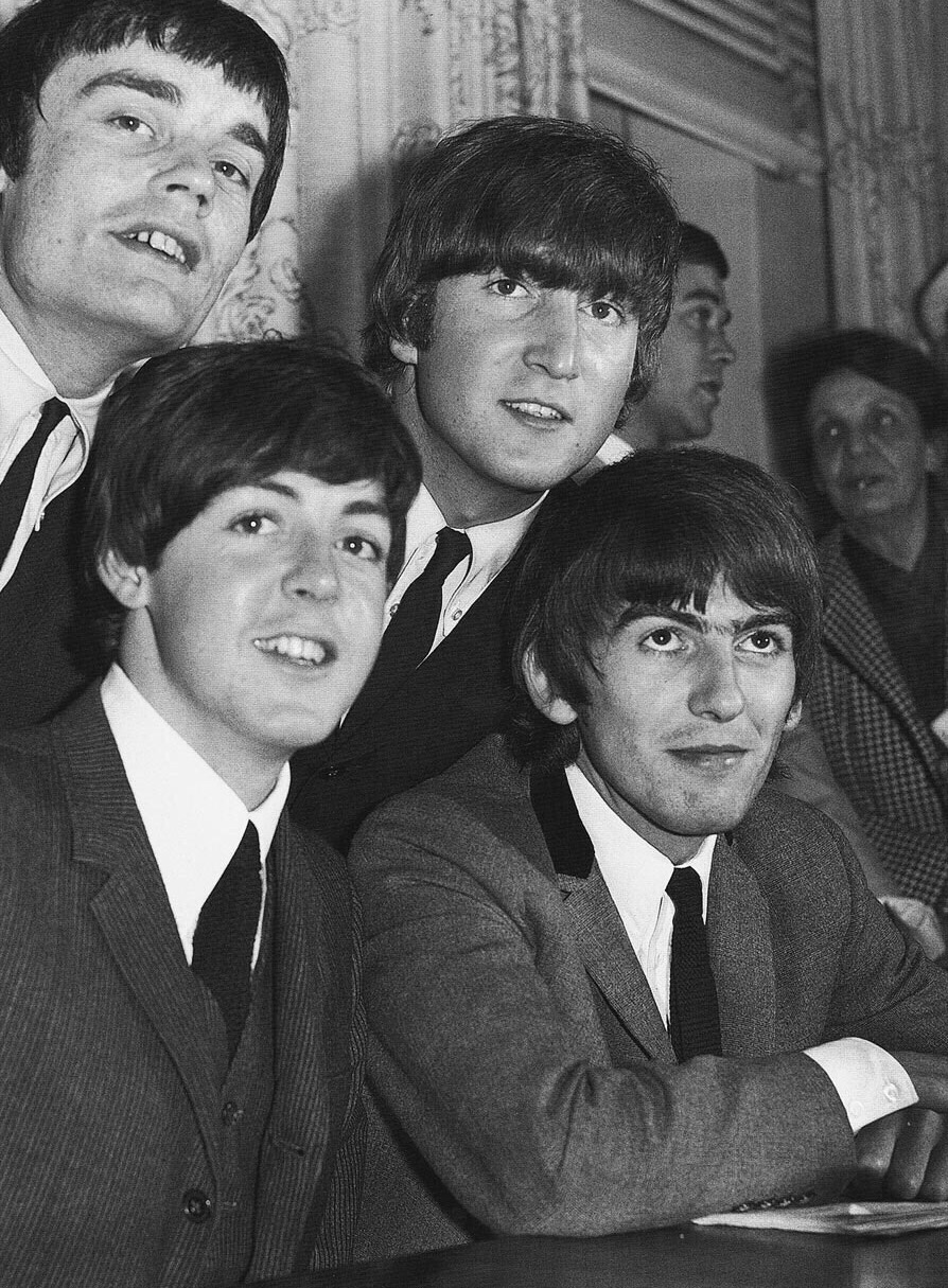 The Beatles with Jimmie Nicol, June 1964.