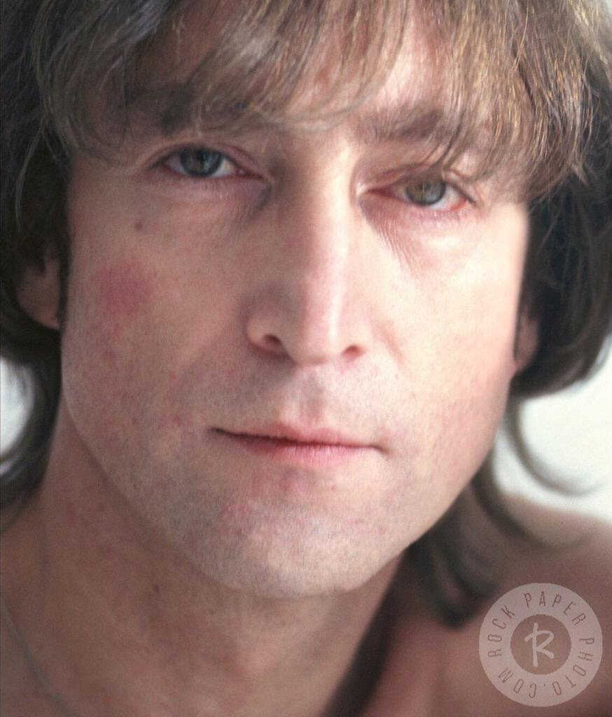 John Lennon two weeks before his murder, November 1980.