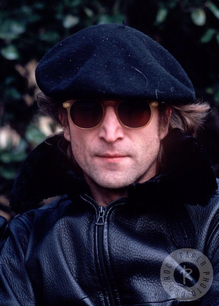 John Lennon in New York, 1980.