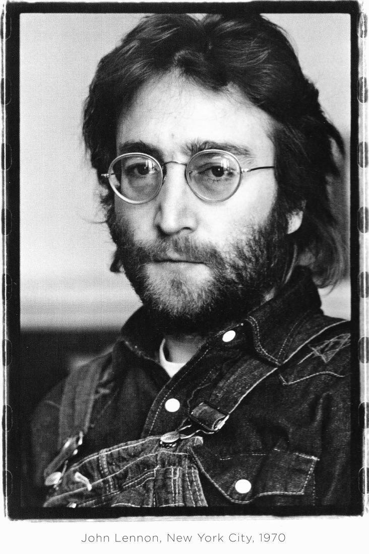 John Lennon in New York City, 1970.