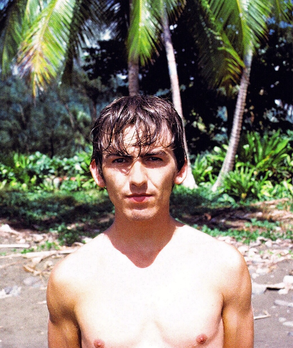 George Harrison in Tahiti, May 1964.
