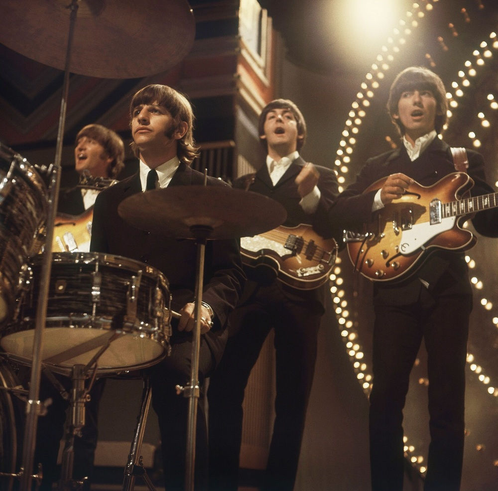The Beatles on Top of the Pops, June 16th 1966.