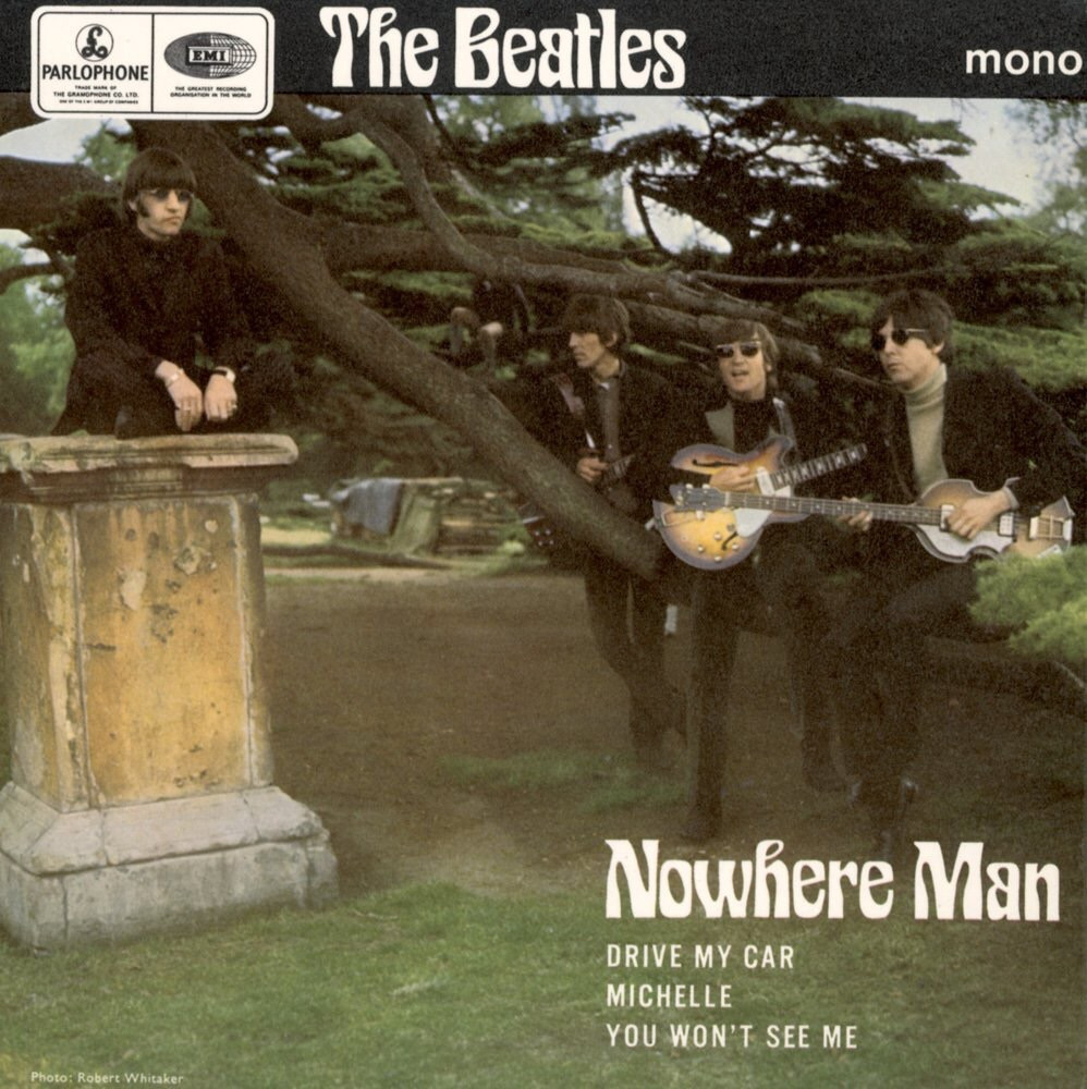 Nowhere Man EP, released July 8th 1966.