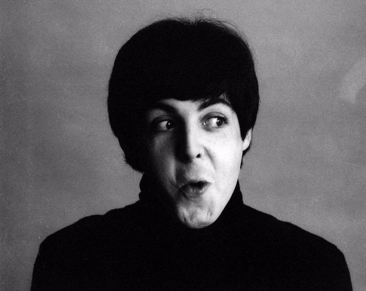 Paul McCartney photo shoot for A Hard Day's Night, 1964.