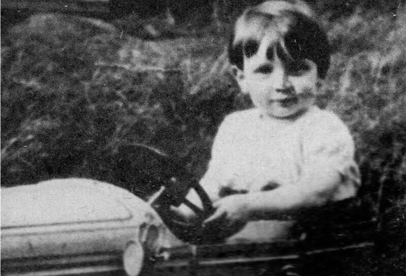 John Lennon circa 1943.