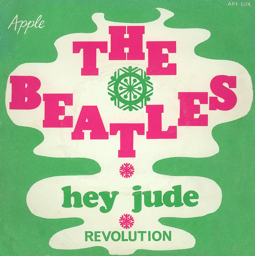 Hey Jude/Revolution single sleeve, 1968.