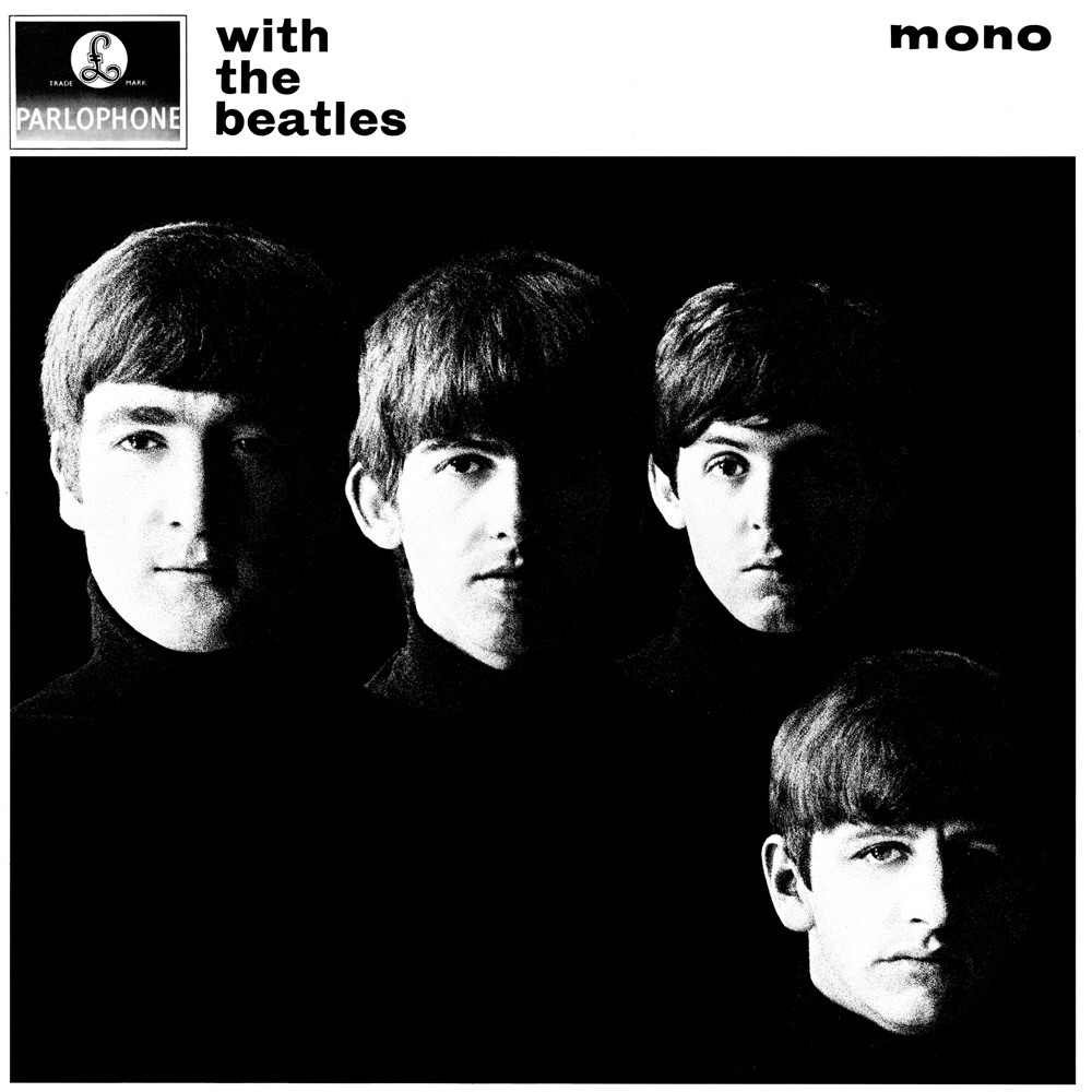With the Beatles album cover, 1963.