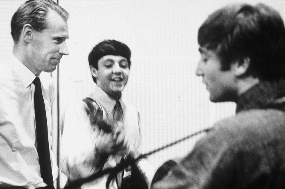 The Beatles recording She Loves You, July 1st, 1963.
