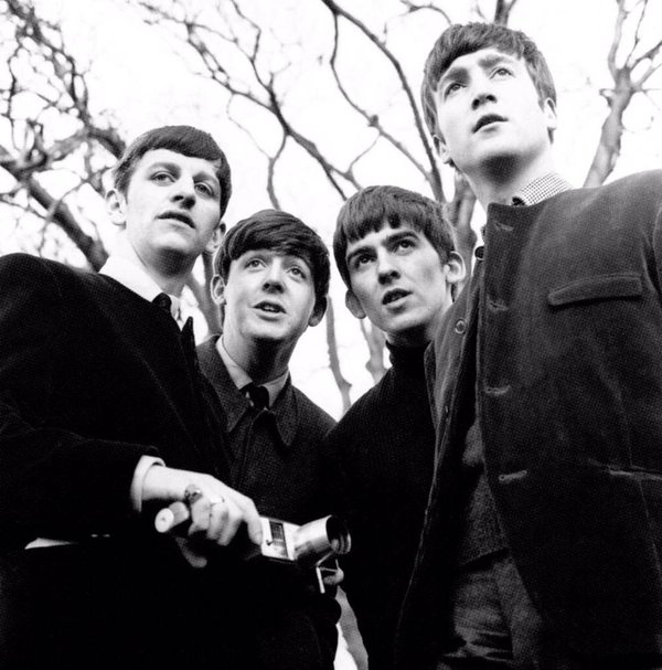 The Beatles at Sefton Park, Liverpool 1963.
