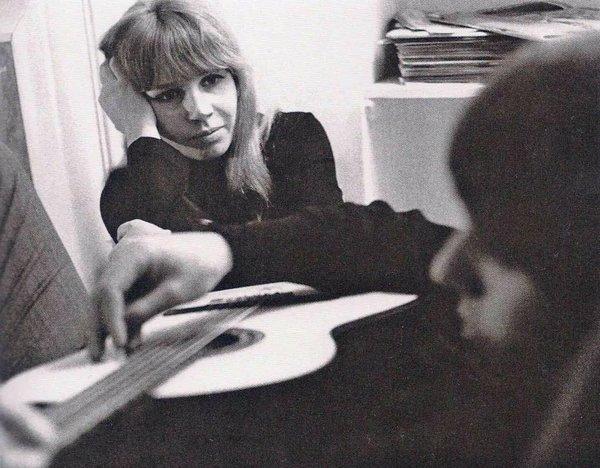 George Harrison and Astrid Kirchherr, 1964.