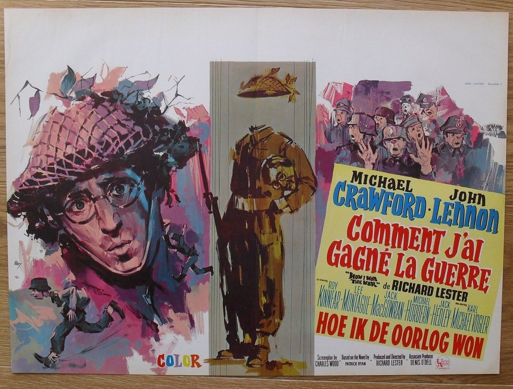 French poster for How I Won the War, 1967.
