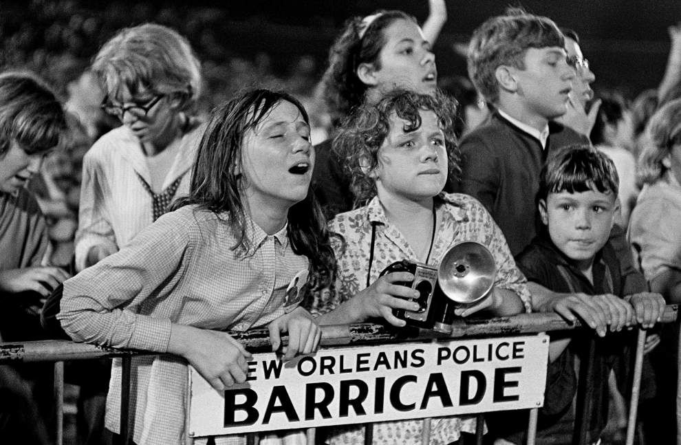 Beatle fans at City Park Stadium, New orleans, September 16th 1964.