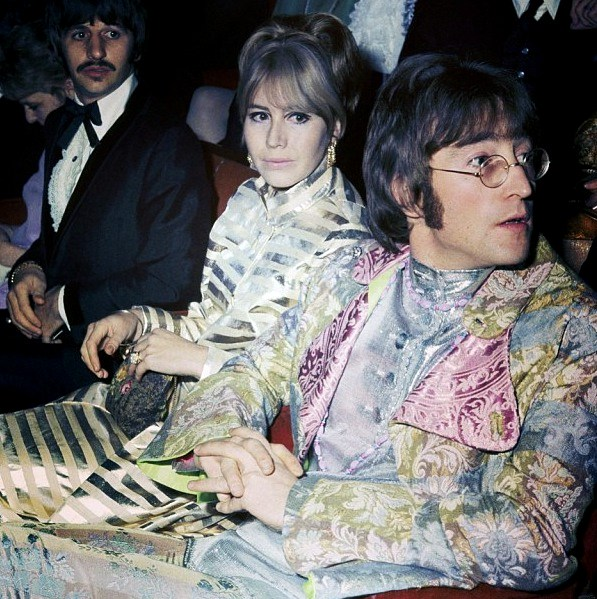 Ringo Starr, Cynthia and John Lennon at the premiere of How I Won the War, October 18th 1967.
